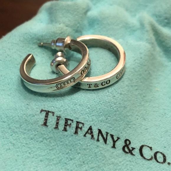 31eca1398 Tiffany & Co. Jewelry | Tiffany 1837 Small Hoop Earrings | Poshmark